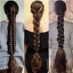 🙊💫Super Thick Hair💫🙉 Model: 🇮🇳 India Portfolio: 📷 See all post 👉 Model: 🇩🇪. Beautiful Braids, Beautiful Long Hair, Braided Hairstyles, Cool Hairstyles, Long Indian Hair, Natural Hair Styles, Long Hair Styles, Braids For Long Hair, Braid Hair