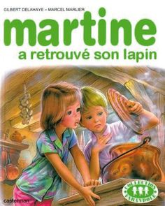 Martine finds her lost rabbit