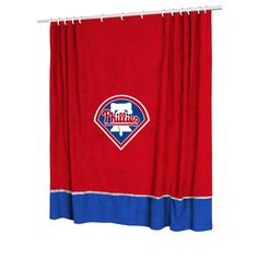 Philadelphia Phillies MLB Shower Curtain