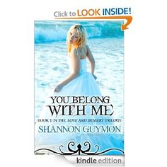 FREE You Belong With Me (Book 1 in The Love and Dessert Trilogy) eBook: Shannon Guymon: Kindle Store