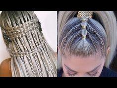 PEINADOS FACILES Y RAPIDOS 2019 PEINADOS RECOGIDOS CON TRENZAS - YouTube Youtube, Dreadlocks, Hair Styles, Beauty, Vestidos, Hairdos, Cosmetology, Hairstyles, Youtubers