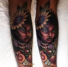 Image Result For Tattoos On Dark Skin Women Skin Color Tattoos Dark Skin Tattoo Tattoos