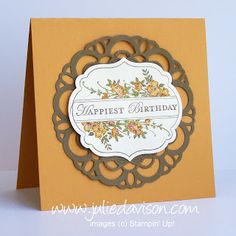 Julie's Stamping Spot -- Stampin' Up! Project Ideas Posted Daily: NEW! Weekly Deals + Favorite Projects
