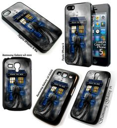 Tardis Doctor Who at The Mist Art iPhone 4 4S 5 Galaxy S3 S3 Mini or S4 Case | eBay