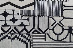 Vanderhurd Black and White Dhurries