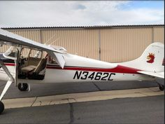 1955 Cessna 170B for sale in (KSEE) San Diego, CA USA => www.AirplaneMart.com/aircraft-for-sale/Single-Engine-Piston/1955-Cessna-170B/14985/
