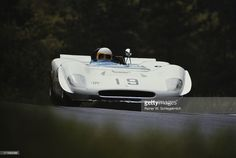The #19 Oreste Berta YPF Berta LR Ford Cosworth driven by Luis Di Palma and Carlos Marincovich of Argentina during the International Championship for Makes ADAC Nurburgring 1000 Kilometres race on 31st May 1970 at the Nurburgring near Nurburg, Germany.