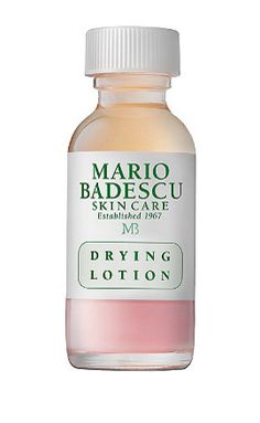 Shop Behati Prinsloo's Runway Solutions. Buy it now: Mario Badescu Plastic Bottle Drying Lotion, $17