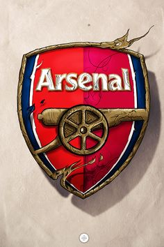 I made the logo of my favorite team Arsenal.Go Gunners!Outlines done with Corel Painter XI, the rest of it in Photoshop Arsenal Fc, Arsenal Football Club, Arsenal Players, Arsenal Badge, Logo Arsenal, Arsenal Memes, Arsenal Academy, Bundesliga Logo, Arsenal Football