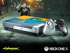 New powered Xbox One X Cyberpunk 2077 Console with Full Game and DLCs Xbox Console, Cyberpunk 2077, Xbox One Games, Consoles, Console, Console Table