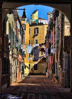 Laundry day in Venice, Italy #ILoveVeniceItaly