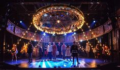The Circus in Winter. Goodspeed Musicals. Scenic design by Jason Sherwood.