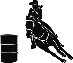 Cowboy Cowgirl Silhouette Clip Art | Cowgirl Silhouette ...