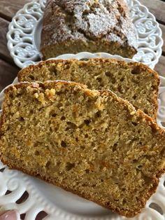 Greek Recipes, My Recipes, Diet Recipes, Cake Recipes, Dessert Recipes, Desserts, Bread Cake, Healthy Sweets, Love Is Sweet