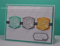 Six-Sided Sampler - I like the Artistic punch behind the hexagon