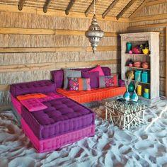 60s twist on Moroccan decor
