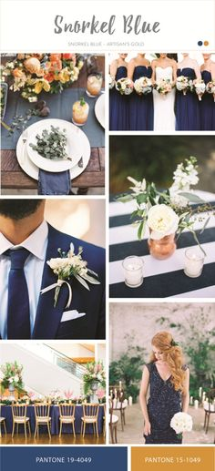 Snorkel blue for wedding color inspiration | Spring 2016 Wedding Color Trend From Pantone | http://www.bridestory.com/blog/spring-2016-wedding-color-trend-from-pantone