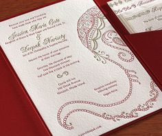 Letterpress Wedding Invitation Designs and Indian Wedding Card Gallery Indian Wedding Cards, Indian Wedding Invitations, Letterpress Wedding Invitations, Diy Invitations, Invitation Ideas, Invitation Card Design, Wedding Invitation Design, Wedding Card Design, Cards