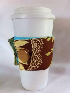 Coffee Snuggie in Lotus by lizzysueandher2 on Etsy, $9.99