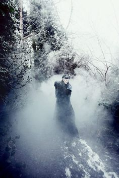 By Lucia O'Connor-Mc-Carthy~ Haunting beauty lost~looking~ Frozen Love~