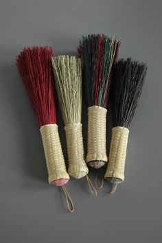 beautiful handcrafted shaker brooms, whisks, etc