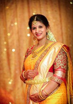 Valaikappu Makeup Hairstyle : valaikappu, makeup, hairstyle, South, Indian, Shower, Makeup, Ideas, Showers,, Photography,