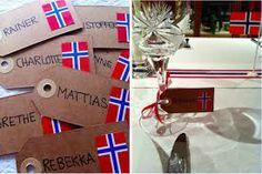 17 mai bord - bordkort Norway National Day, Constitution Day, Seasons, Google, Tips, Advice, Seasons Of The Year