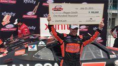 NASCAR Race Mom: Smith, Sadler, Blaney and Suarez advance to #NASCA...