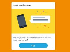 Push Notification Popup