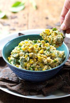 Jalapeño Quinoa Corn Dip