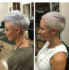 Frisuren in Grautönen liegen noch immer voll im Trend! Diese 10 Frauen zeigen uns warum! - Neue Frisur