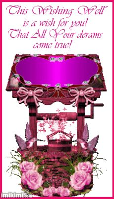 This wishing well  is a wish for you! That all your dreams come true! animations | Jewels Art Creation