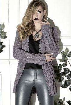 Casaco Alongado - Trench Coat Lã Seda