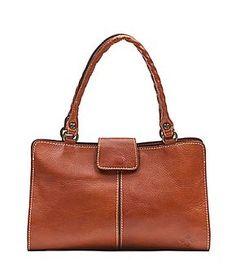 Patricia Nash Heritage Collection Rienzo Leather Satchel #Dillards