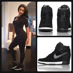 Nike Air Revolution Sky Hi Women's #Casual #Wedges | Wedge