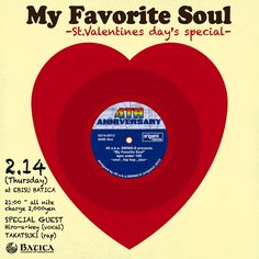 """for event """"My Favorite Soul"""" flyer"""