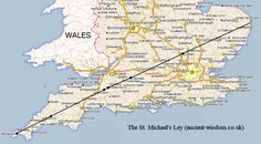 The St. Michael's Leyline follows the path of the Sun on the 8th May (The spring festival of St. Michael).