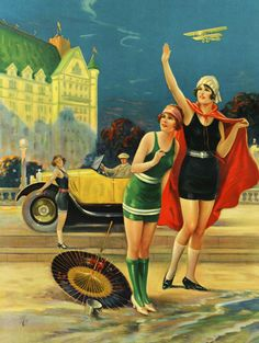 vintagegal:  art by Charles Relyea 1930's