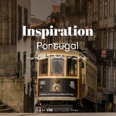 Collection d'idées et d'inspiration pour un voyage au Portugal.
