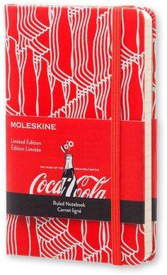 Moleskine Pocket Coca-Cola Limited Edition Hard Ruled Notebook (2015) by MOLESKINE (8051272891249) | hive.co.uk