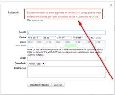 A partir de Julio ya no se podrán enviar más Invitaciones del Calendario de Google en emails de Gmail