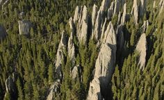 Needles Highway in Black Hills of South Dakota  photo courtesy of SD tourism