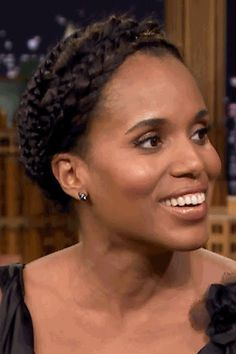 Pin for Later: You'll Never Guess Which Famous Star Taught Kerry Washington How to Dance