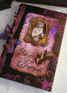 PRAYER JOURNAL altered collage Victorian by TheVictorianGarden