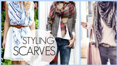 15 Ways to Wear Scarves   Creative & Wearable! - YouTube