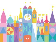 Items similar to DIGITAL Its a Small World Inspired Birthday Party Backdrop - Small World Inspired Birthday Party Background - Its a Small World Party Decor on Etsy Disney Crafts, Disney Art, Disney Mural, Disney Magic, Small World Disneyland, Vintage Disneyland, Disneyland Birthday, Disneyland Sign, 10 Birthday