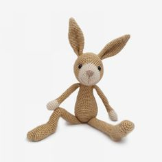 Hopper The Hare Amigurumi Pattern