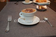 """Breakfast...Cappuccino!"" Photo by: ""Instantanee di Gusto"" Guest: Pellino Vincenzo #restaurant #breakfst #assisi #food"