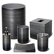 image of Veratex Ridley Pewter Bath Ensemble