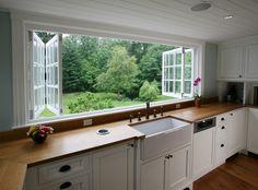 Classy Kitchen Windows